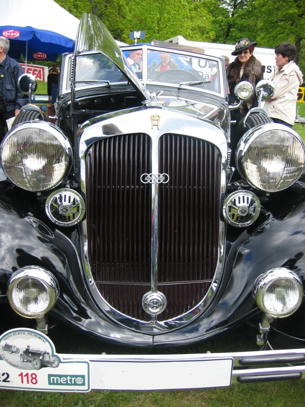 2004 years Car meeting at Gärdesloppet