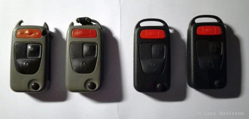 Chrysler Crossfire: Anti theft alarm
